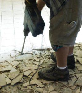 Фирма за разрушаване на плочки в баня